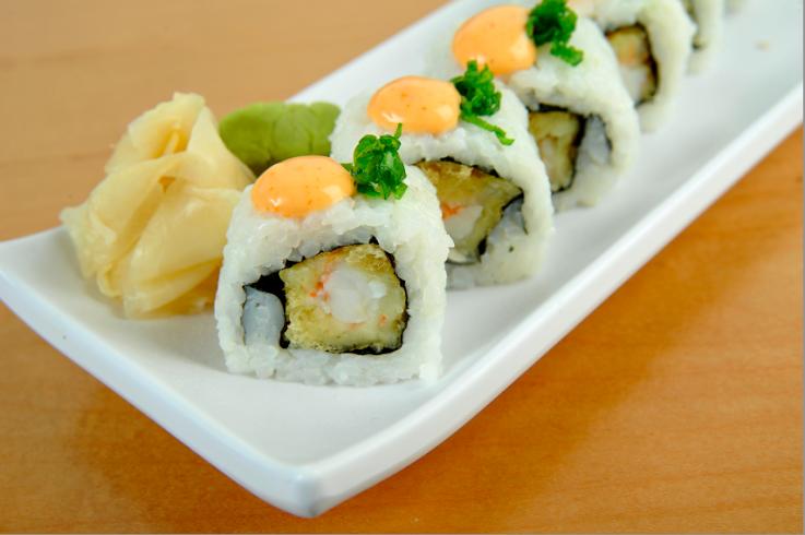 ماهي اكثر أنواع السوشي المطلوبة في دبي ؟