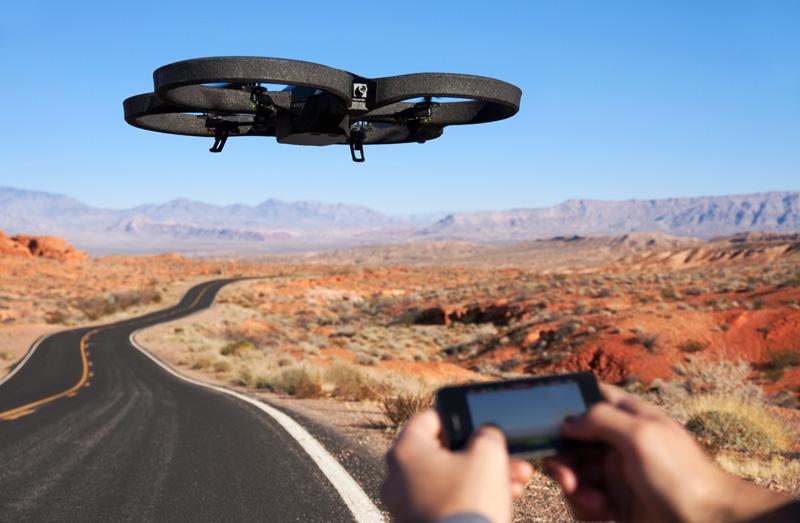 Photo of طائرات بدون طيار لمراقبة الأماكن العامة في دبي