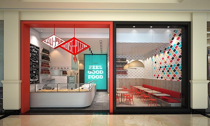 صورة نظرة على مطعم بيت البيتزا في دبي