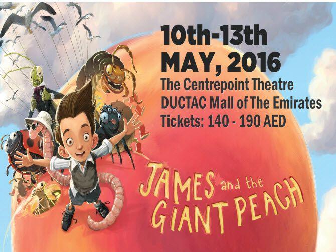 Photo of لا تفوتوا مسرحية جيمس آند ذا جاينت بيتش في دبي