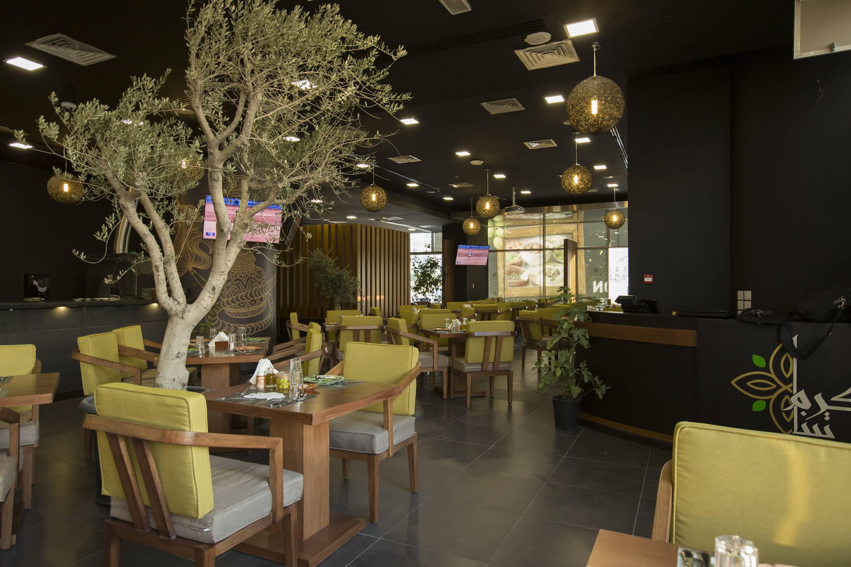 تعرفوا على مطعم كرم تينا للمأكولات العربية في دبي