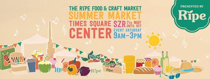صورة مواعيد سوق رايب للأطعمة والمشغولات في مايو الحالي