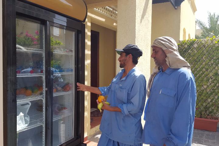 ثلاجات لإطعام المساكين في دبي خلال رمضان 2016