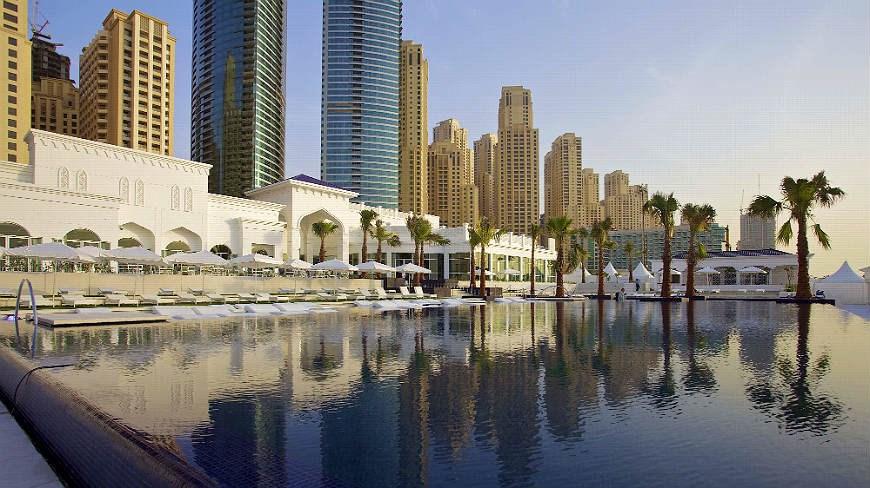 قريبا … إفتتاح فندق كورنثيا دبي في جميرا بيتش ريزيدنس