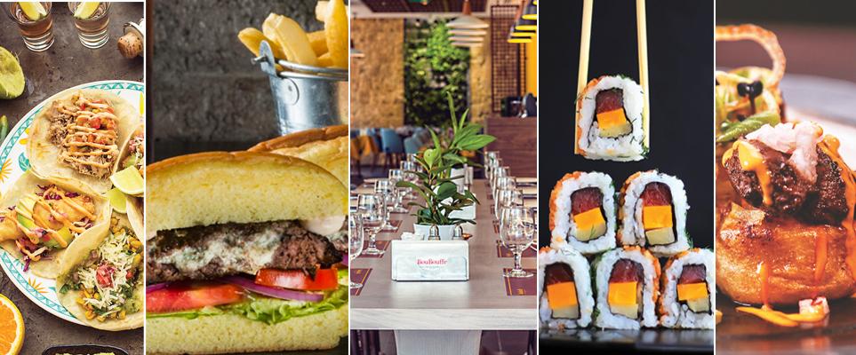 أحدث 5 مطاعم عالمية في دبي
