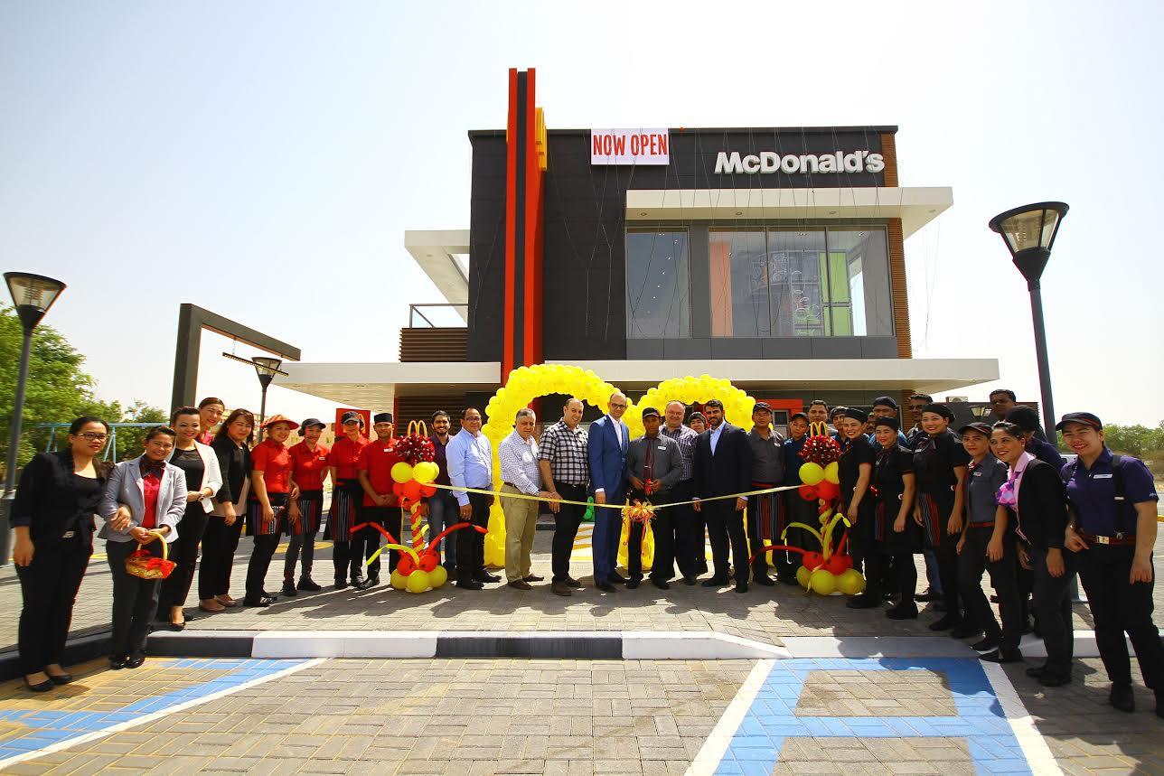 ماكدونالدز الإمارات تفتتح اكبر مطاعمها في العين