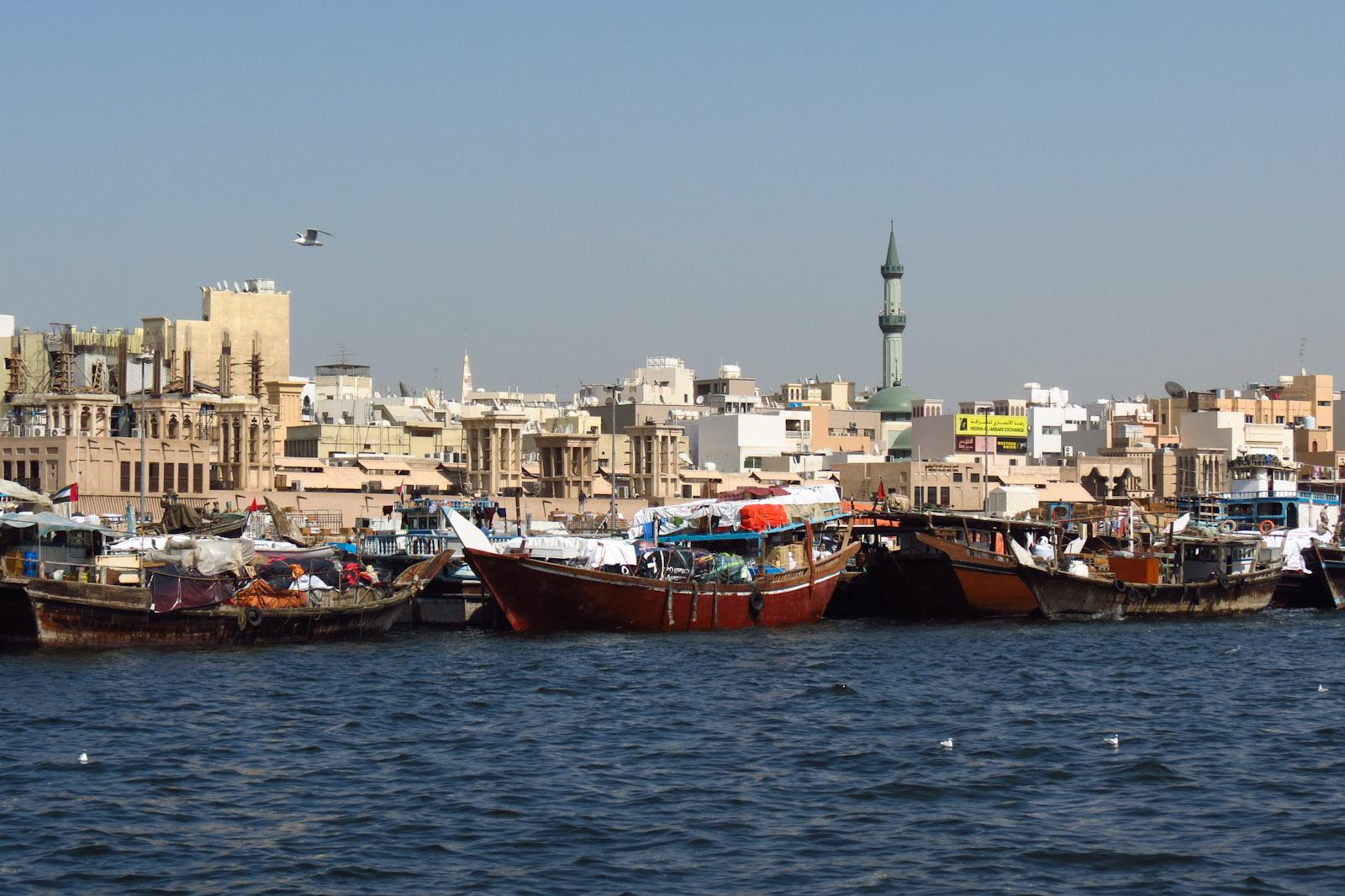 ركوب العبرة في دبي