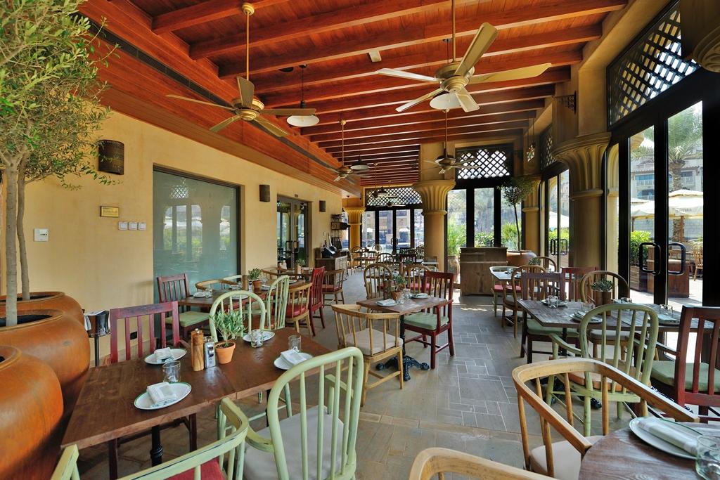 مطعم تراتوريا توسكانا للمأكولات الإيطالية في دبي