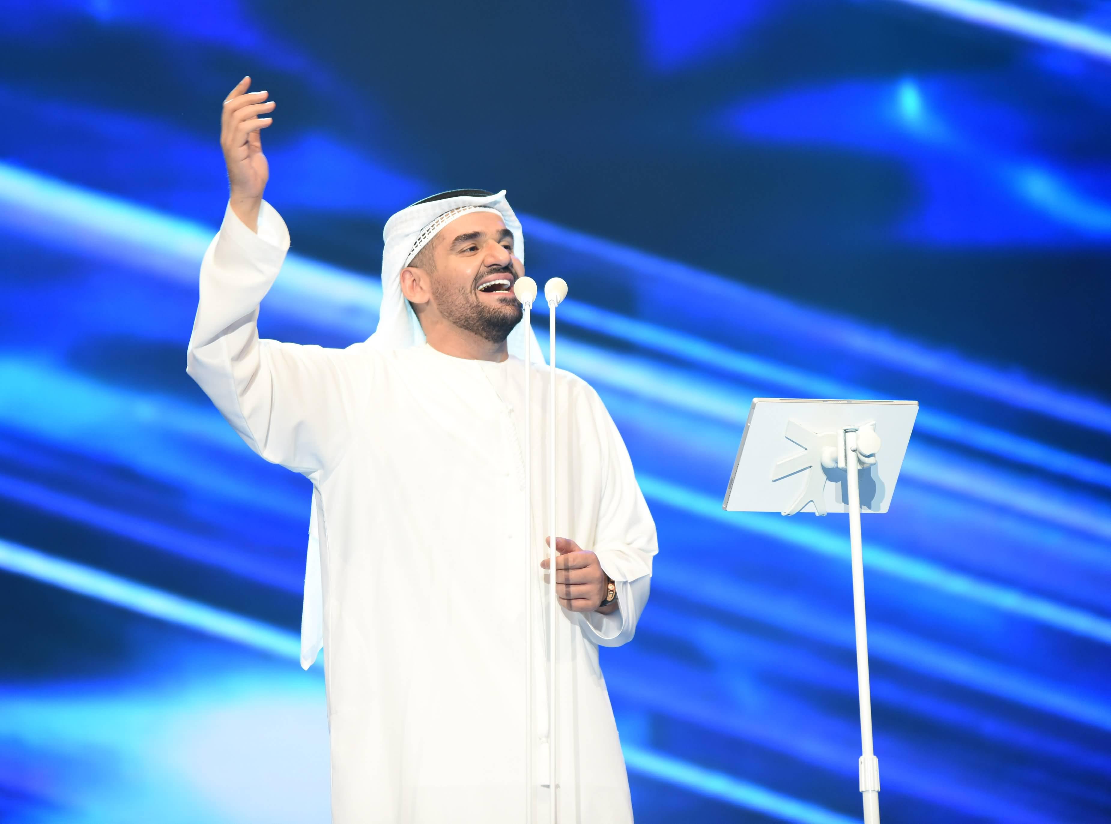 حسين الجسمي أول مطرب عربي يحيي حفلا على مسرح دبي أوبرا