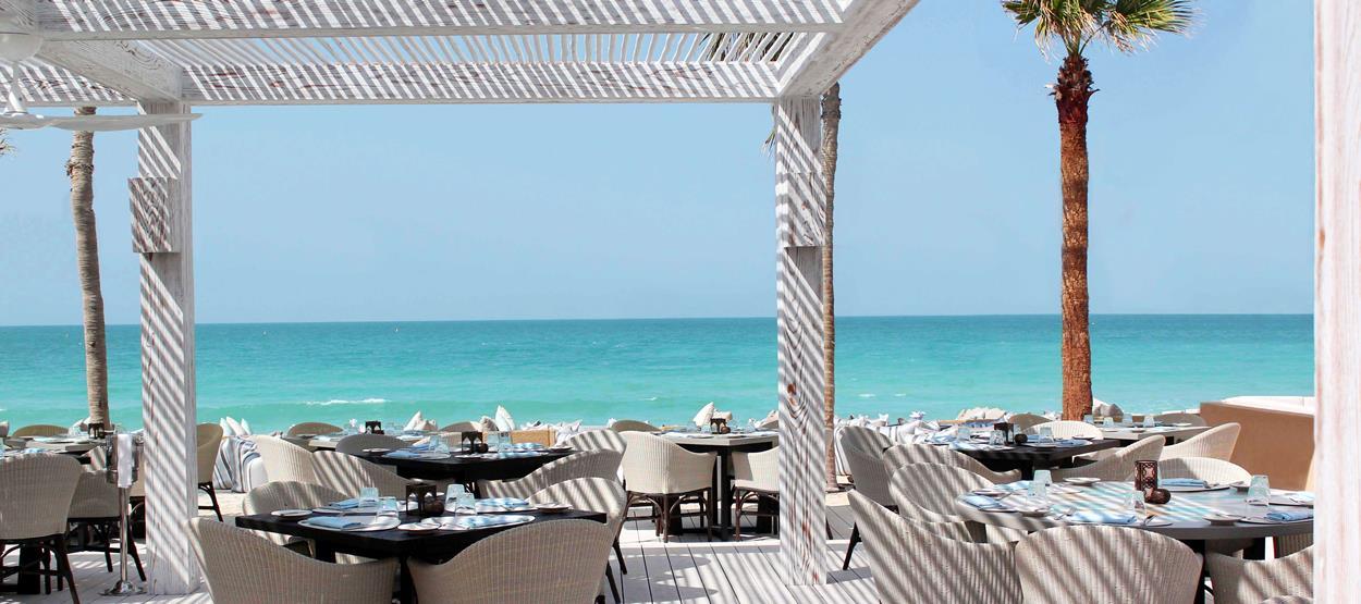 مقهى ومطعم شيمرز للمأكولات المتوسطية في دبي