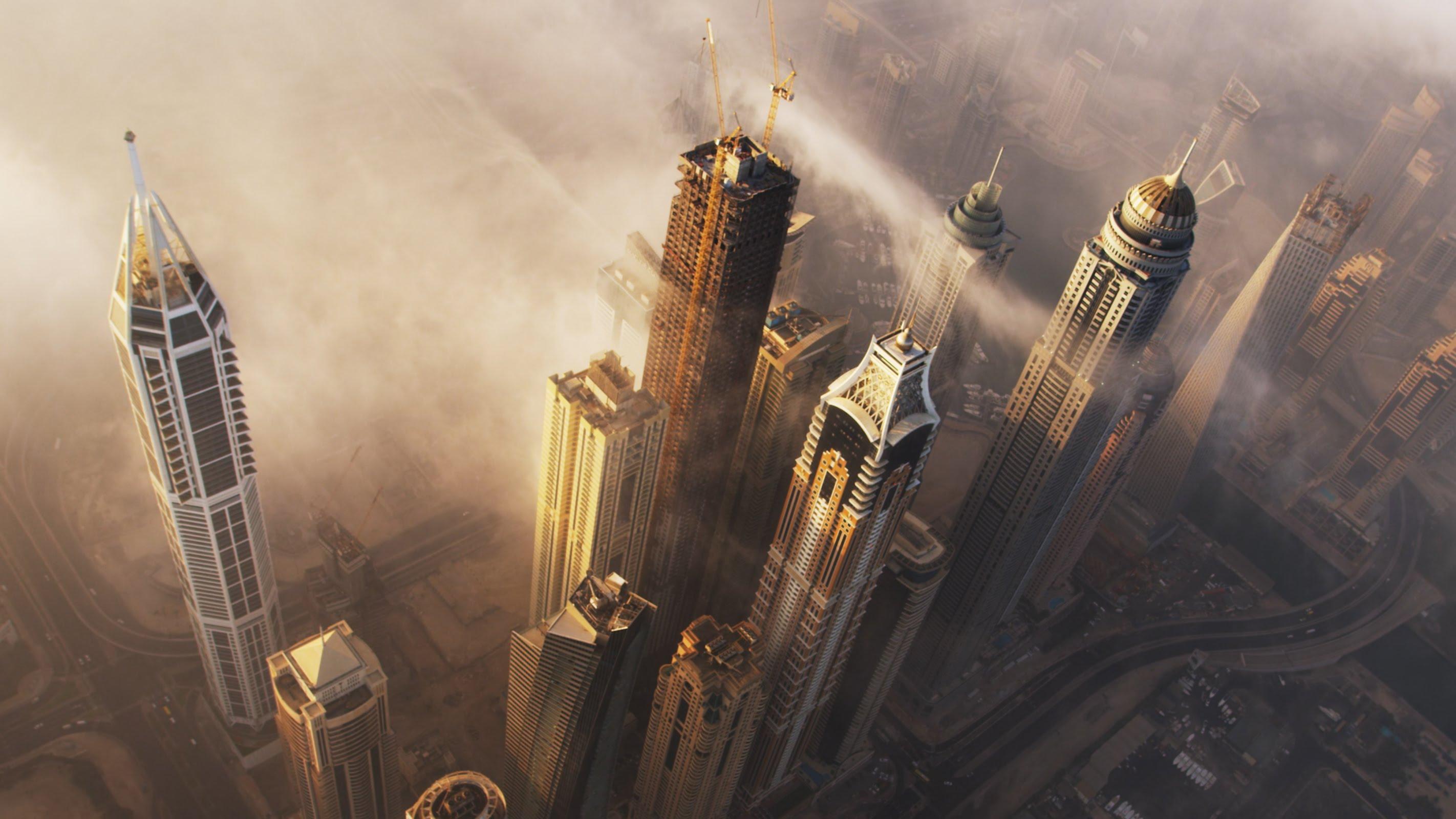 بالفيديو … دبي بتقنية العرض 4K