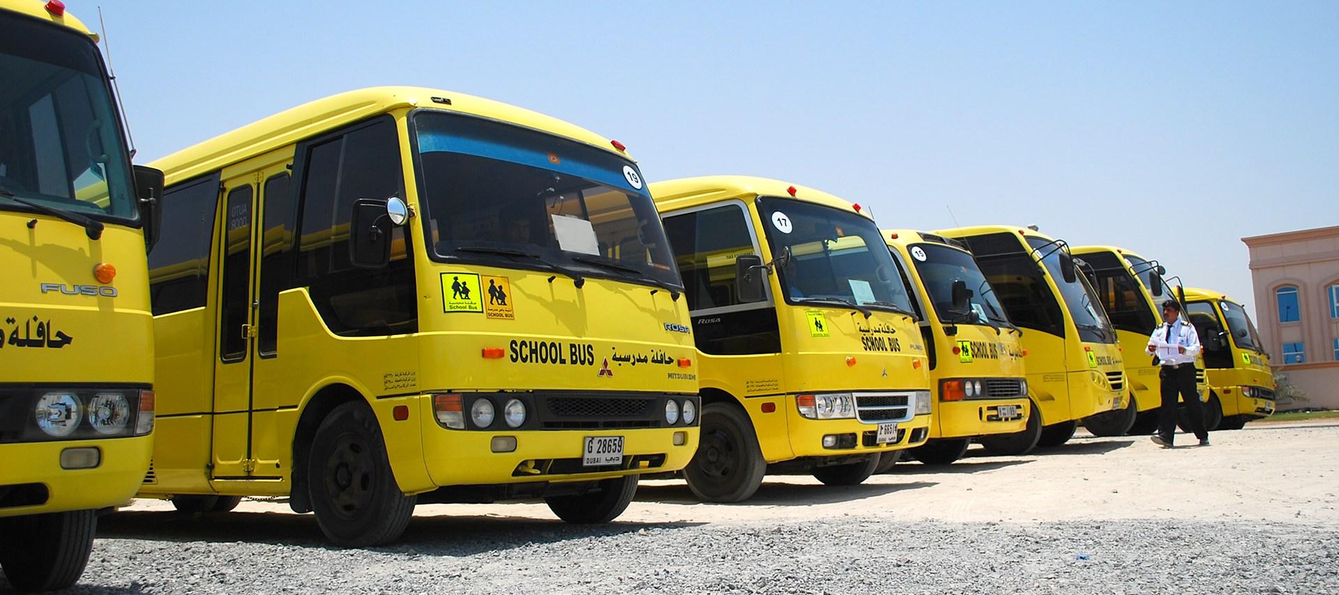 مؤسسة تاكسي دبي توفر أسطولاً من الحافلات المدرسية الذكية للطلاب