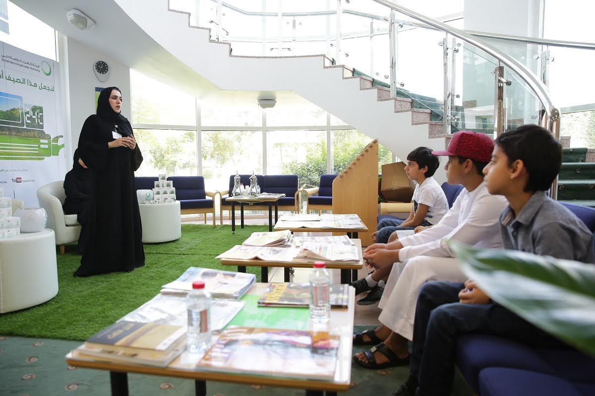 """دبي للثقافة تدعم حملة """"لنجعل هذا الصيف أخضر"""""""