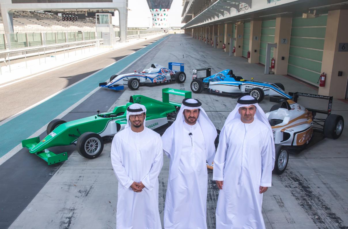 حلبة مرسى ياس تستضيف بطولة الإمارات للفورمولا 4