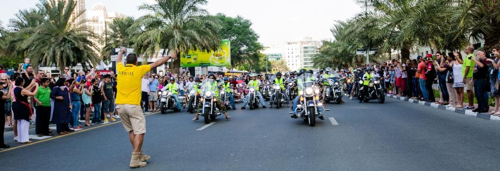 دبي تستضيف أسبوع الخليج للدرّاجات النارية 2016