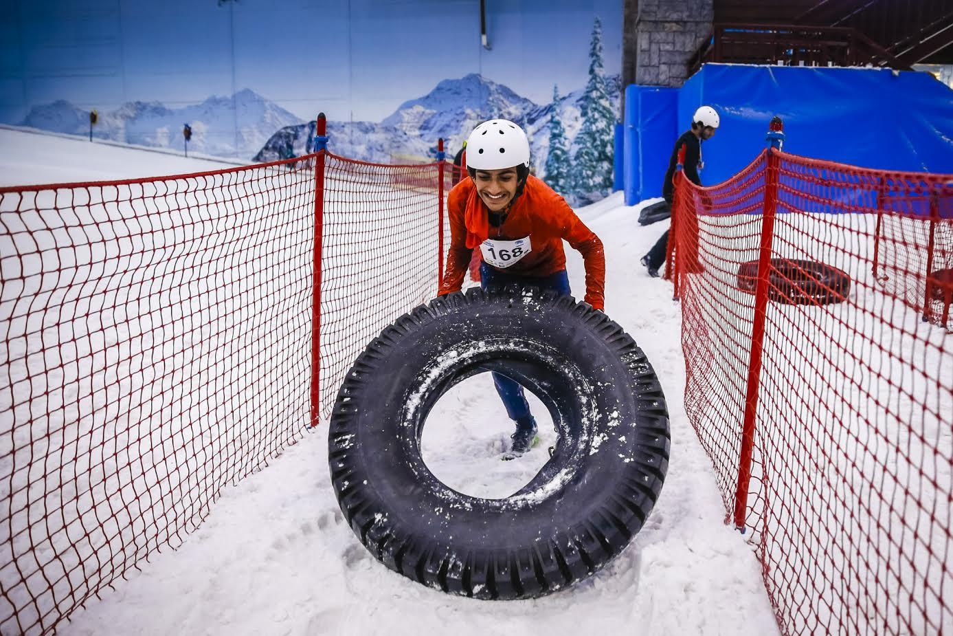 دبي تستضيف الحدث الخيري السنوي تحدّي محارب الجليد 2016