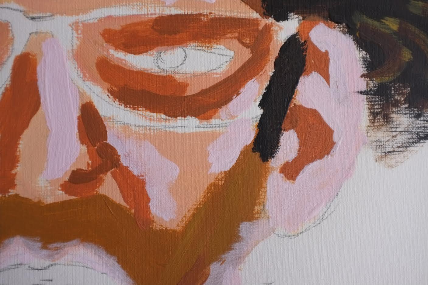 صورة انطلاق معرض الفنان فيكرام ديفيشا في دبي