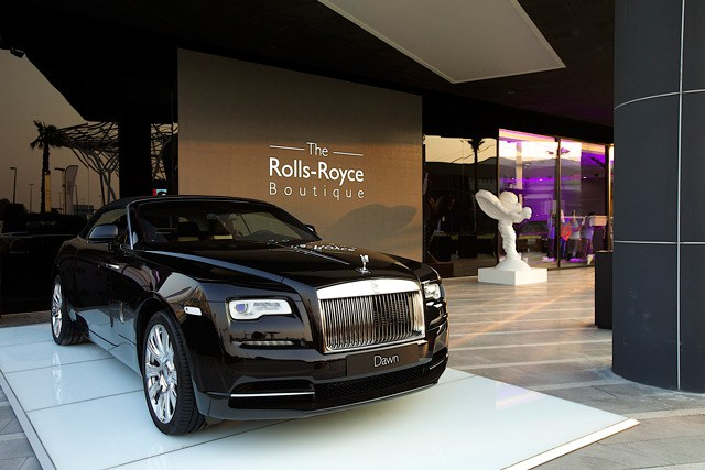 دبي تضم أول بوتيك رولز رويس في العالم