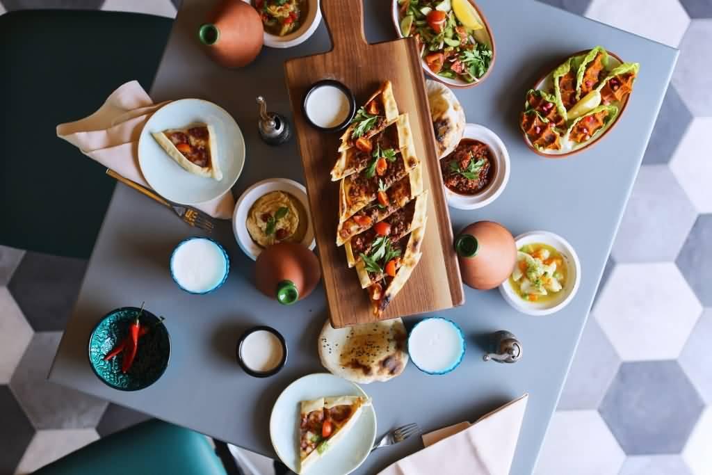 مطعم بيش دبي