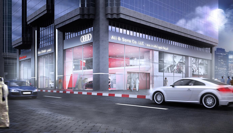 قريبا .. إفتتاح مركز Audi Sport الأول من نوعه في العالم بأبوظبي