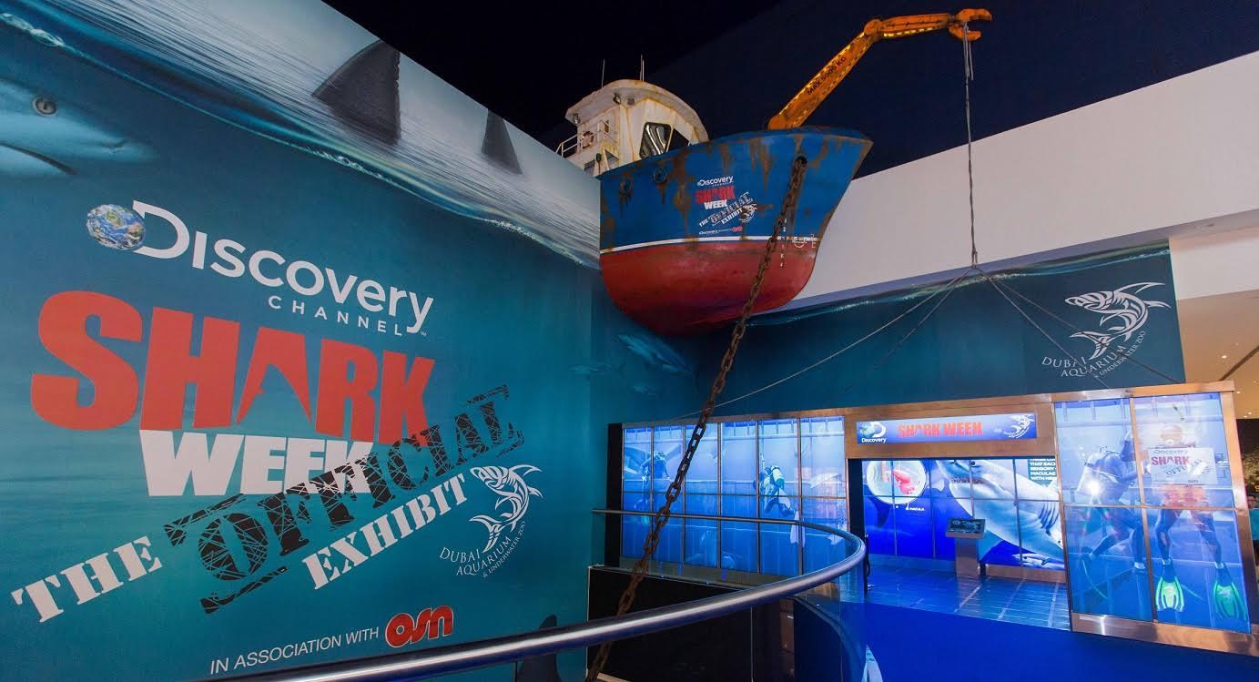 أسماك قرش روبوتية و المزيد في دبي أكواريوم