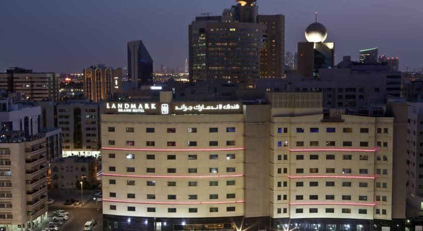 نظرة على فندق لاندمارك جراند في دبي