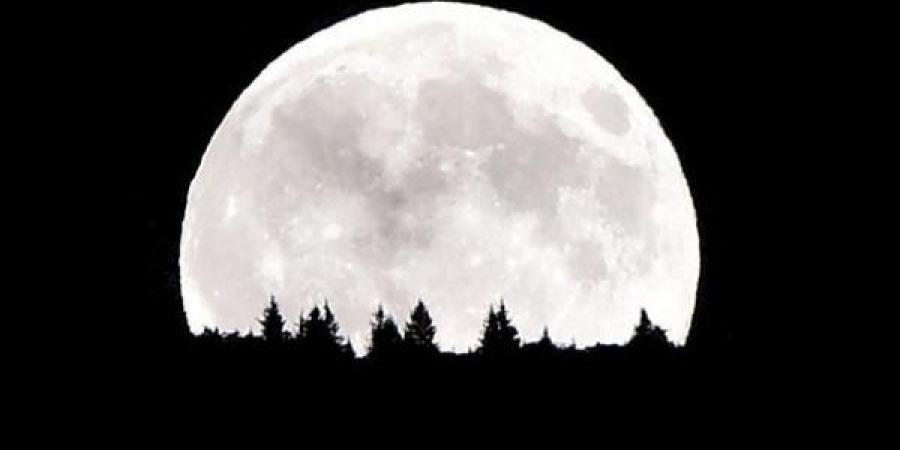 بالفيديو و الصور .. ظاهرة القمر العملاق في دبي