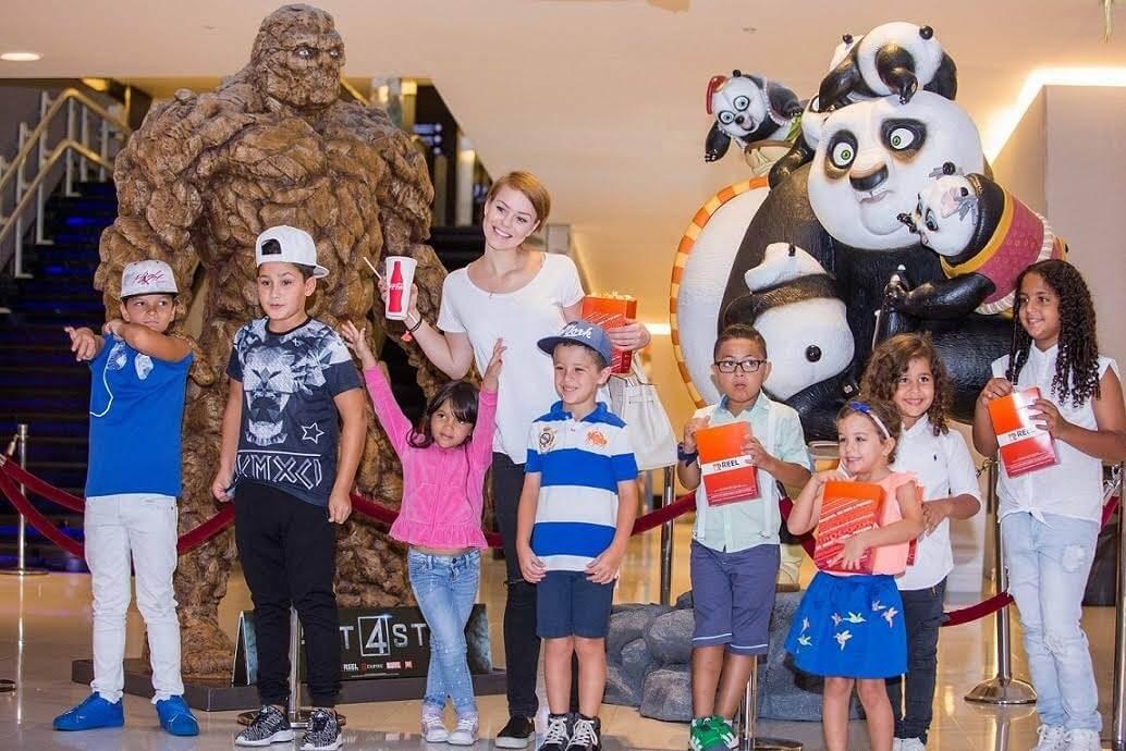 ريل سينما تنظم عروض خاصة بالأطفال
