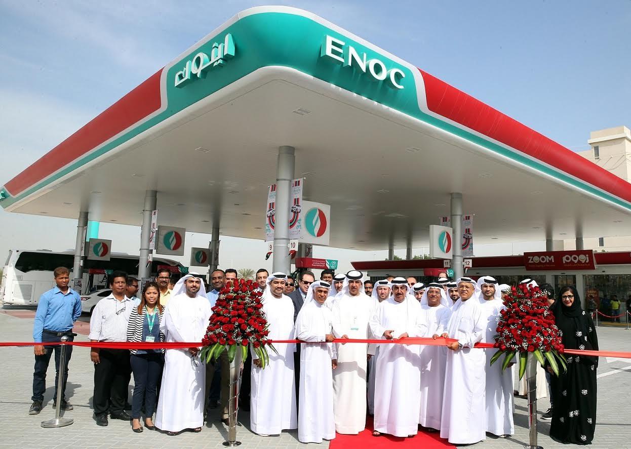 شركة اينوك تفتتح محطة خدمات جديدة مدينة دبي الأكاديمية العالمية