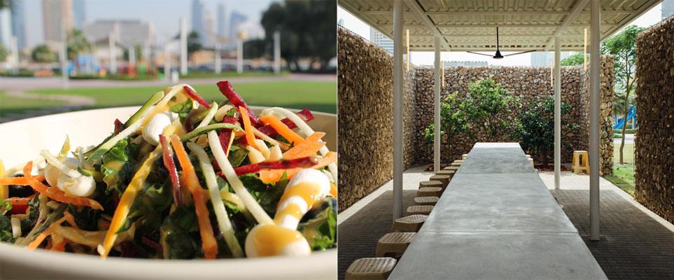 صورة مطعم إن ذا بارك يقدم تجربة تناول الطعام بين احضان الطبيعة