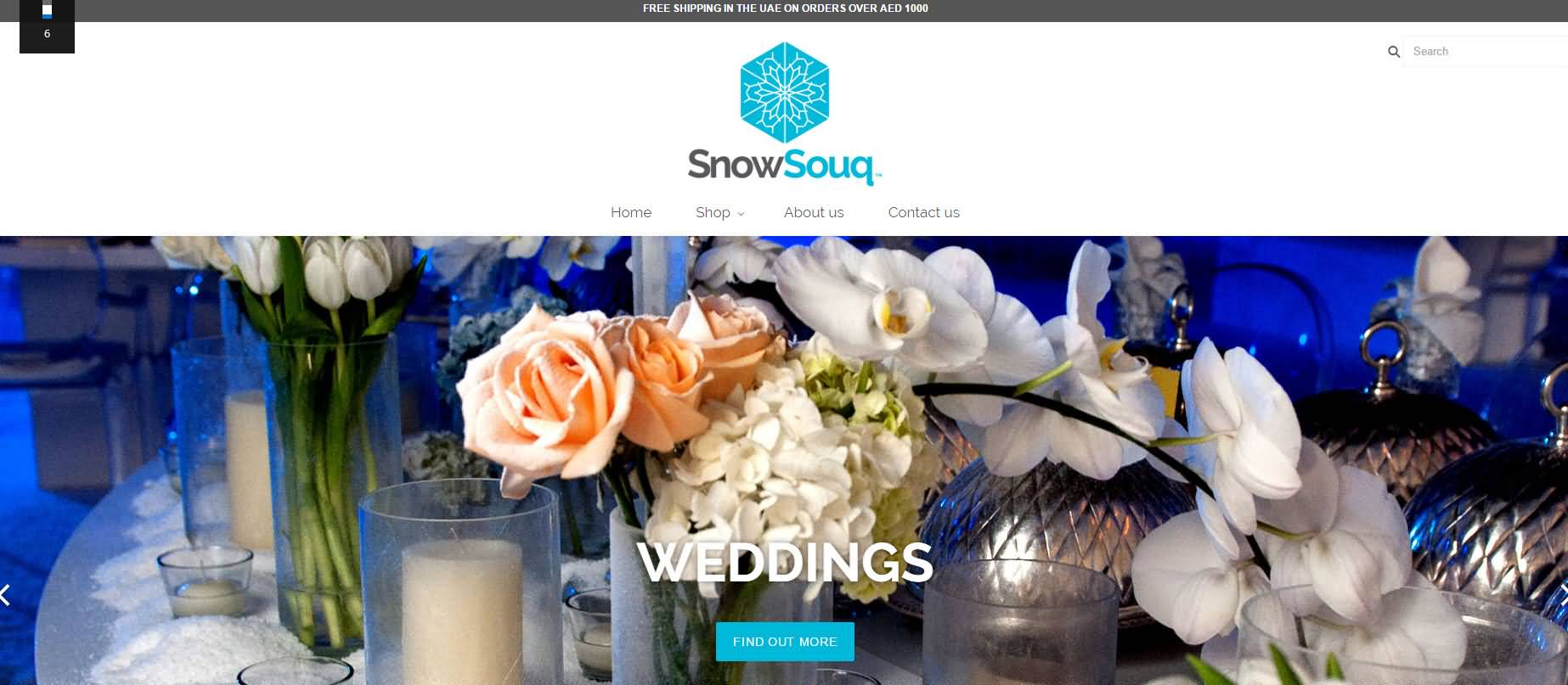 متجر الثلج .. المتجر الأول من نوعه على الإنترنت في الإمارات