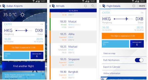 كل ما يجب عليكم معرفته حول تطبيق مطارات دبي