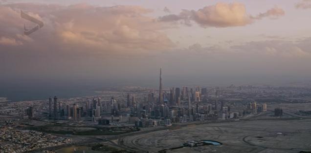 بالفيديو .. شاهد دبي و أبوظبي من السماء بطريقة رائعة
