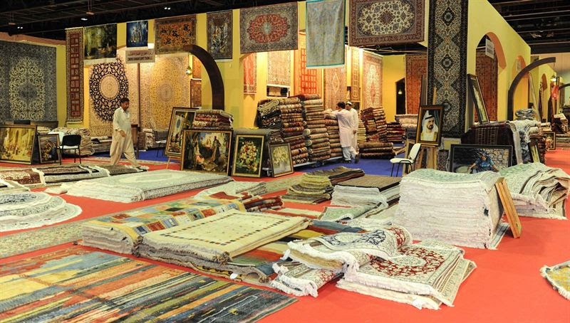 لا تفوتوا .. معرض واحة السجاد والفنون ضمن مهرجان دبي للتسوّق 2017