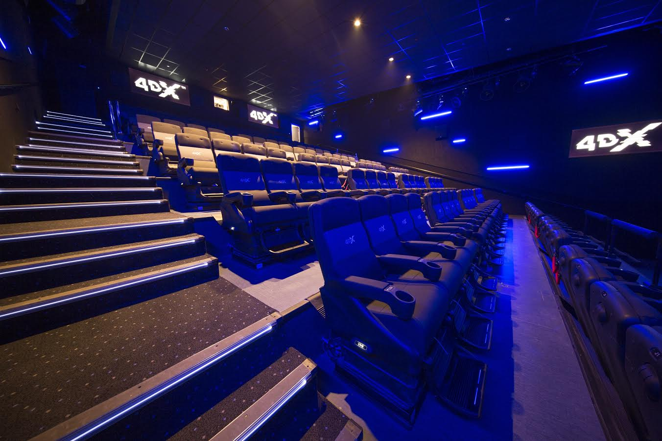 شركة ماجد الفطيم للسينما تطلق مفهوم سينما ڤوكس رباعية الأبعاد 4DX في الإمارات