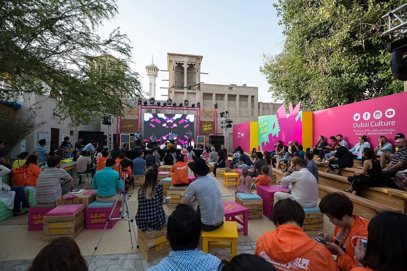 دبي تستضيف الدورة السابعة لمعرض سكة الفني 2017