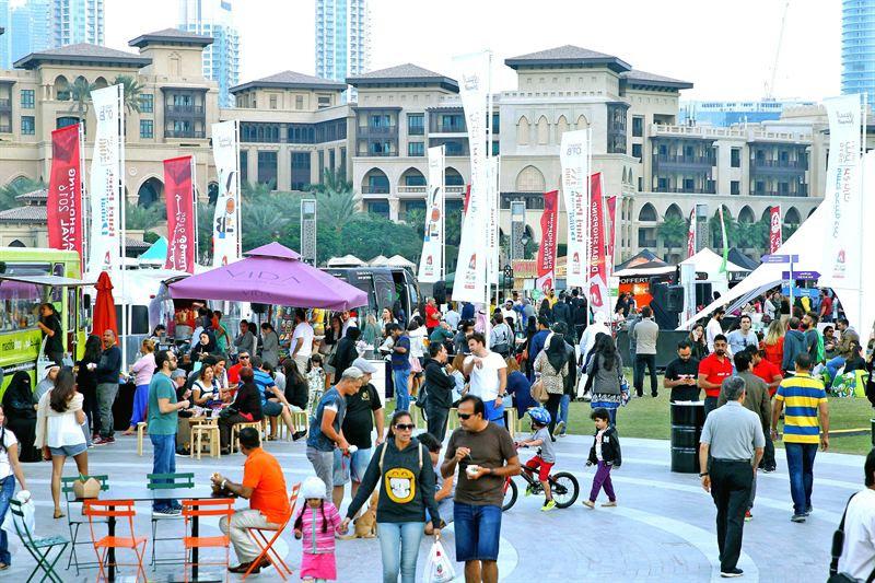 فعالية السوق الموسمي ضمن مهرجان دبي للتسوق 2017