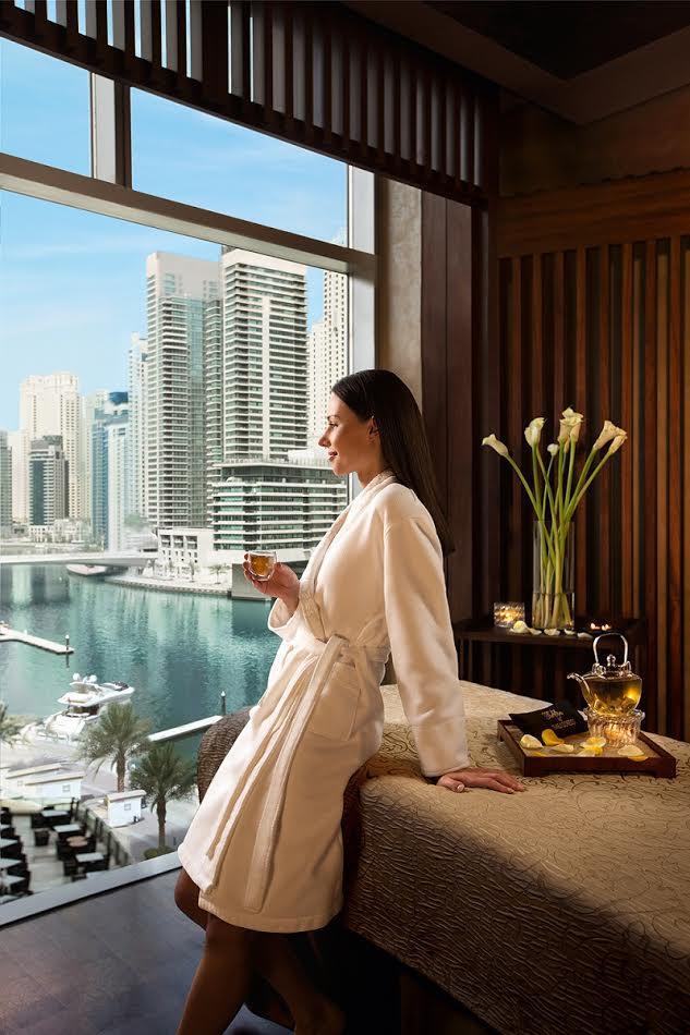عروض السبا لشهر مارس 2017 في فندق العنوان مرسى دبي