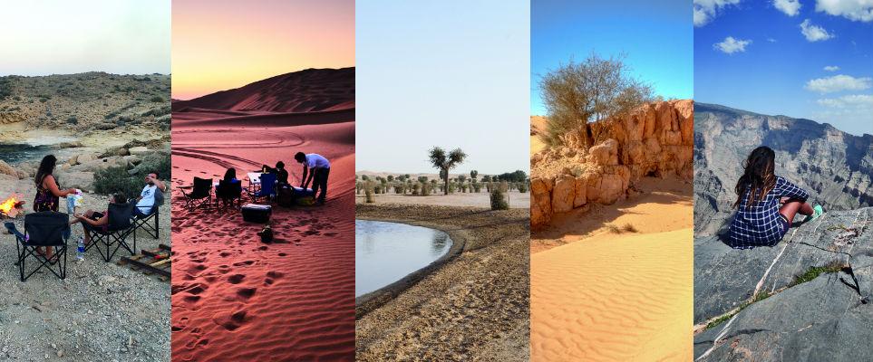 أفضل 5 مناطق للتخييم في الإمارات