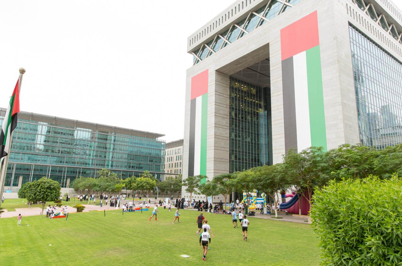 مركز دبي المالي العالمي يدعم مبادرة اليوم الرياضي الوطني