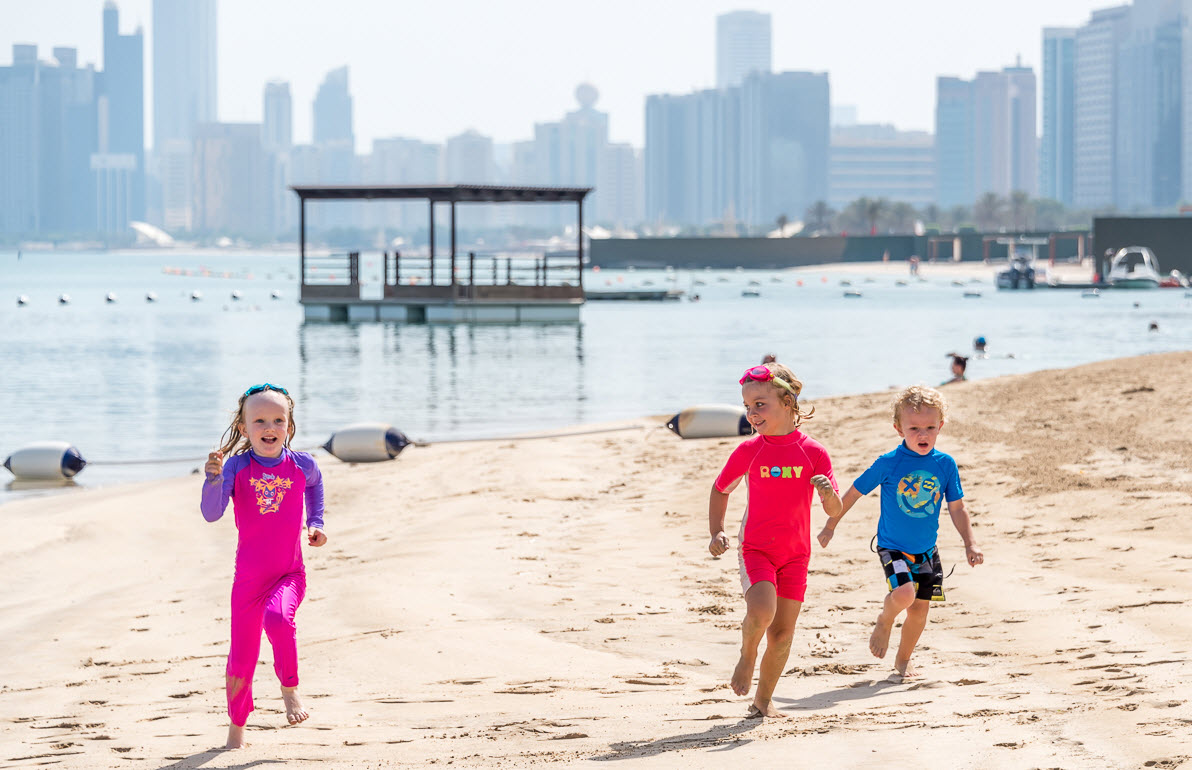 شاطئ هيلتونيا أبوظبي يستضيف يوماً مفتوحاً مجانياً