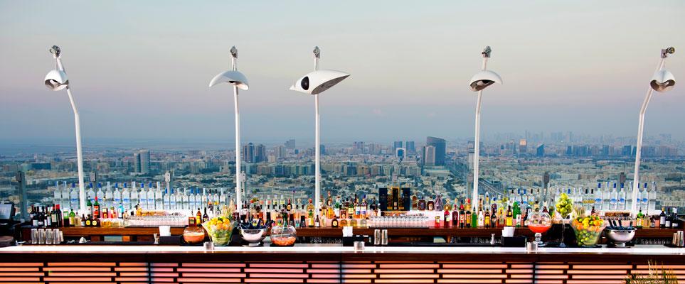 أفضل 5 مطاعم و نوادي ليلية على الأسطح في دبي