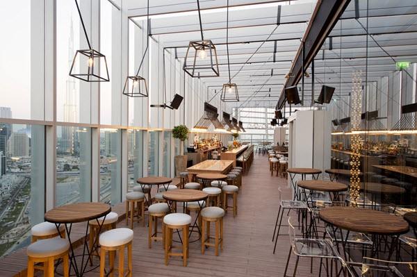 مطعم ايريس للمأكولات العالمية في دبي
