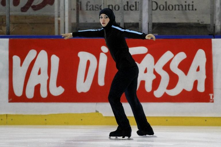 Photo of شاهد زهرة لاري أول متزلجة إماراتية تشارك في الألعاب الأولمبية