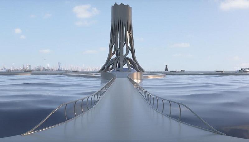صورة كيف ستبدوا دبي خلال سنة 2050؟