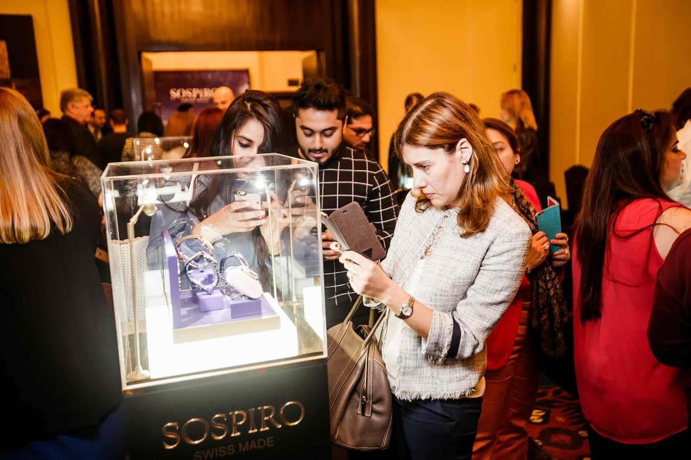 سوسبيرو توفر مجموعة ساعاتها الجديدة في متاجر باريس غاليري