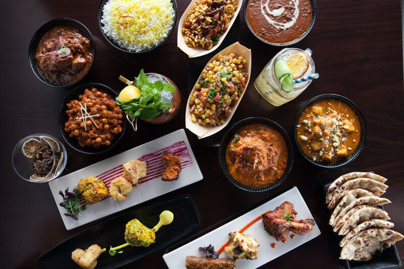 صورة مطعم مينت ليف أوف لندن دبي يقدم برنش طعام جديد