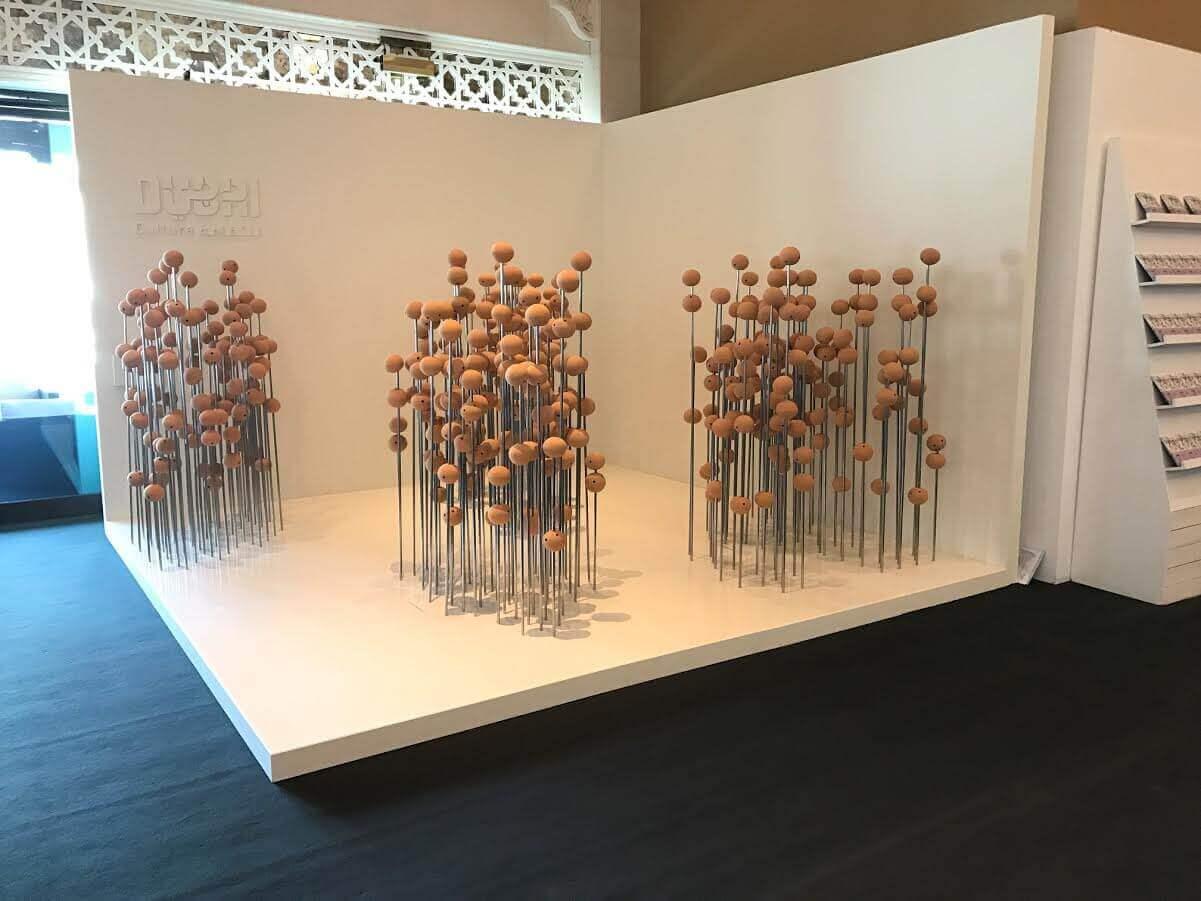 """Photo of لطيفة سعيد وتالين هزبر مصممتا جناح دبي للثقافة في معرض """"آرت دبي"""""""