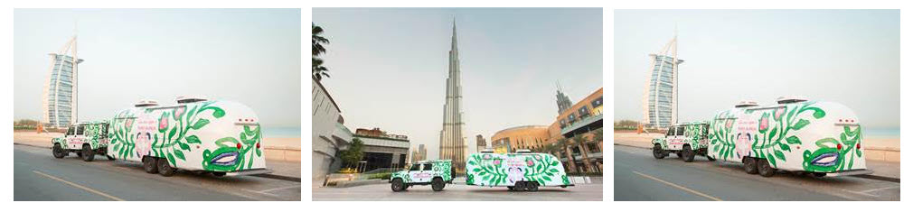 توري برتش تحتفل بمجموعة ربيع 2017 في دبي