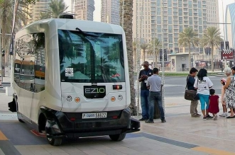 تعرف على السيارة الآلية ذاتية القيادة EZ10 في دبي